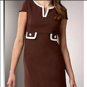 Lilly Pulitzer Cleary Colorblock Chocolate Dress 4